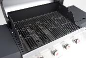 Miton 4 Burner Plus Side Burner Gas Barbecue
