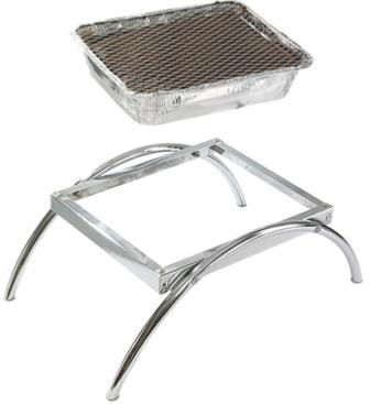 Asado Stand For Instant Disposable BBQ's