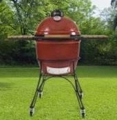 Classic Kamado Joe Smoker BBQ Red