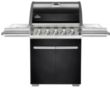 Napoleon LE3 5 Burner Gas BBQ (Black) With Free Cover