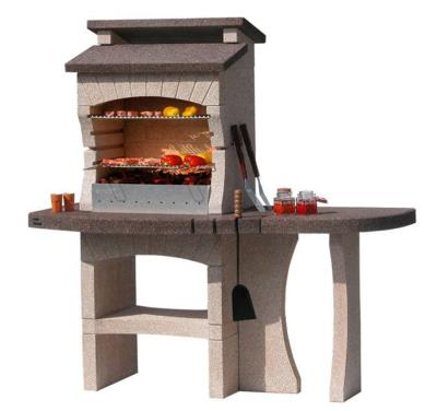 The Tarragona Crystal BBQ With Side Table