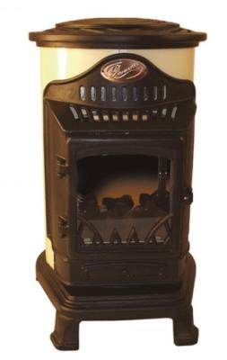 Provence Living Flame Flueless Stove In Cream