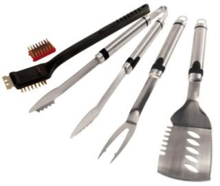 5 Piece Premium Barbecue Genius Tool Set.