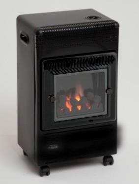 Lifestyle Living Flame Portable Cabinet Heater