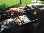 Rotisserie Kit For Brick Built Barbecues