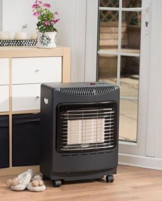 Lifestyle Mini Radiant Heater Black