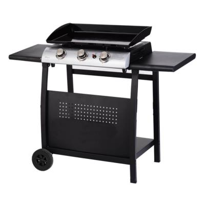 Callow Three Burner Gas  Plancha with Stand