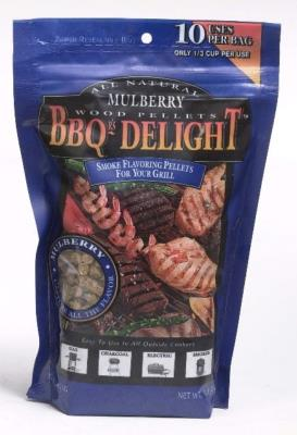 BBQr's Delight 1Lb Bag of Mulberry Barbecue Wood Pellets