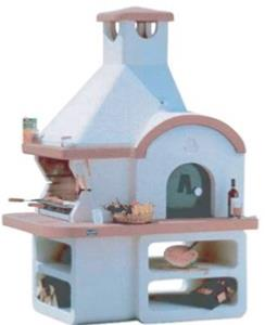 Big K America Stone BBQ With Pizza Oven