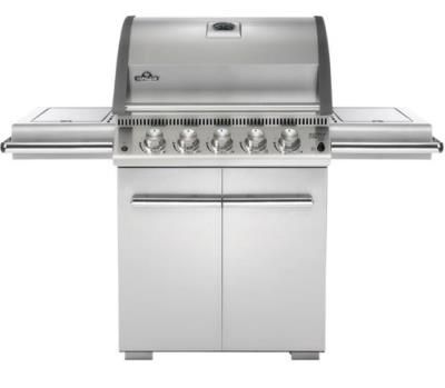 Napoleon LE3 5 Burner Gas BBQ (Stainless Steel) Free Cover
