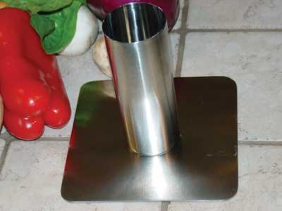 All Stainless Steel Chicken Roaster and no need to use a beer can!