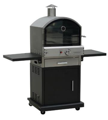 New Lifestyle Verona Black  Deluxe Gas Pizza Oven / Smoker