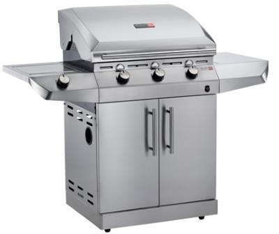Charbroil Performance Stainless Steel 3 Burner Gas BBQ