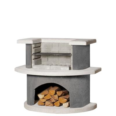 Buschbeck Luzern Masonry Barbecue Fireplace