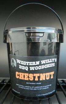 1 Litre Western Willy's Chestnut Wood Chips