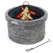 Stone Style Garden Fire Pit