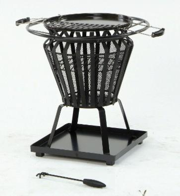 Lifestyle Steel Basket Log Burner Firepit