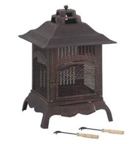 Lifestyle Harlin Firepit Log Burner