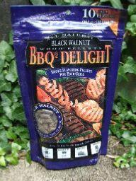 BBQr's Delight 1Lb Bag of Black Walnut Barbecue Wood Pellets