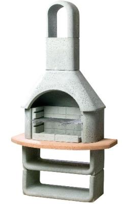 The Buschbeck Kortina Masonry Barbecue