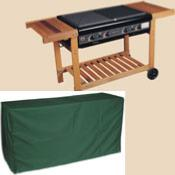4 Burner BBQ Cover Cover Up Range