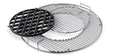 Weber Gourmet Replacement Hinged Cooking Grill and Sear Grate