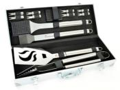 13 Piece Landmann Stainless Steel Tool Set.