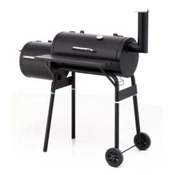Callow Offset Charcoal BBQ Smoker With Side Fire Box