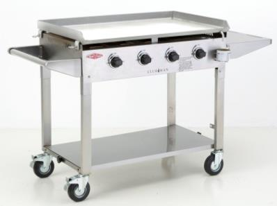 Beefeater Clubman Large SS Commercial Gas BBQ