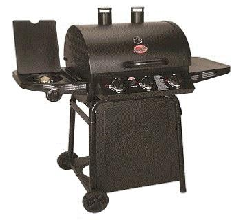American Char-griller Gas BBQ Smoker