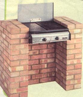 The Landmann 2 Burner Gas BBQ For Stone BBQ