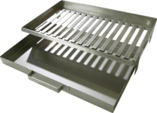 Masonry BBQ Stainless Steel Fire Grate and Ash Drawer By Buschbeck