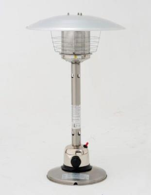 Sirocco Stainless Steel Table Top Gas Garden Patio Heater