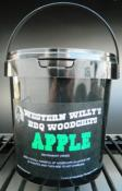 1 Litre Western Willy's Apple Wood Chips