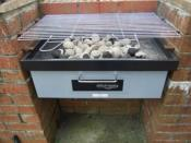 Grill and Bake Barbecue With Oven