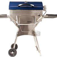 Deluxe Stainless Steel Barbeskew Charcoal Rotisserie BBQ