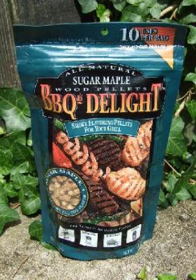 BBQr's Delight 1Lb Bag of Sugar Maple Barbecue Wood Pellets