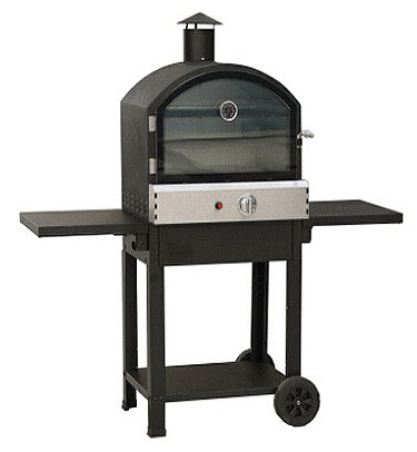 Lifestyle Taranto Black Gas Pizza Oven