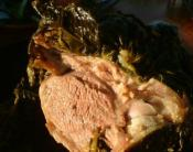How to BBQ a Joint of Lamb with Fresh Mint Recipe