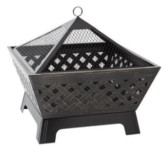 Heavy Duty Barrone Outdoor Fire Pit