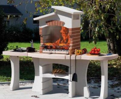 Special Made to Order Masonry BBQ