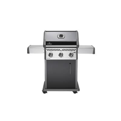 Napoleon Rogue 425 Balck Gas BBQ No Side Burner With Free Cover