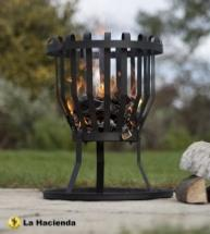 Small Fire Basket Log Burner