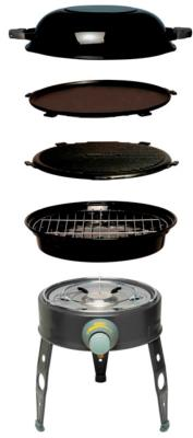 Cadac Safari Chef HP Camping Gas BBQ