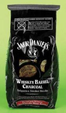 3Kg Jack Daniels Whiskey Barrel Charcoal.