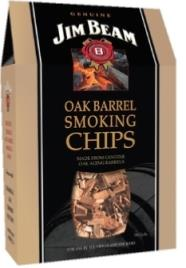 Jim Beam Oak Barrel Barbecue Smoking Wood Chips