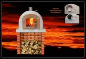 Mediterrani Outdoor Wood Oven