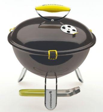 Landmann Piccolino Anthracite Portable Charcoal BBQ