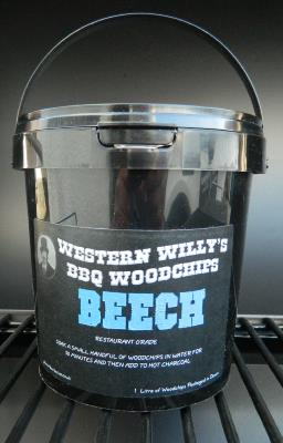1 Litre Western Willy's Beech Wood Chips