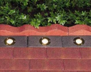 Set of 3 Brick Lights